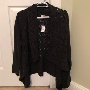 Brand new Loft crocheted cardigan